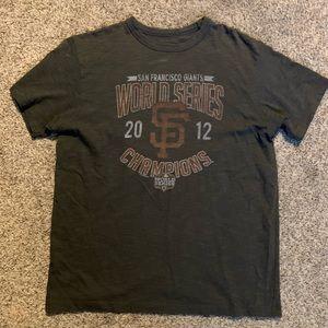 2012 San Francisco Giants World Series champions